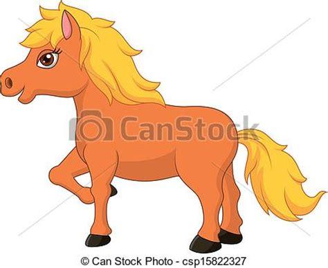 imagenes vectores caballos ilustraciones de vectores de lindo caballo poney