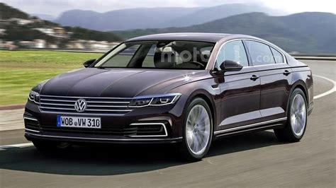 volkswagen phaeton vw phaeton rendered but won t be out soon