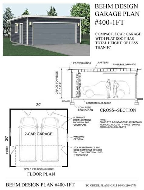 Flat Roof Plan | 68 best images about garage upper deck on pinterest