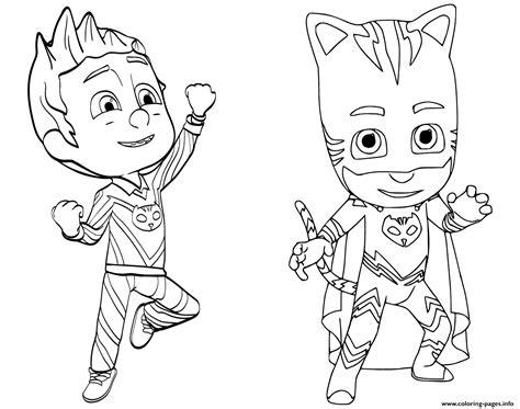 catboy pj masks coloring pages pajama hero connor is catboy from pj masks coloring pages