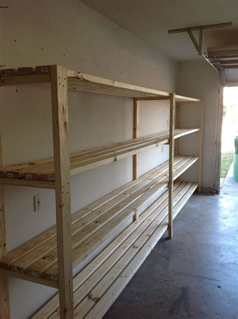 build garage shelves thank you do it yourself home projects from white organizing ideas diy garage storage