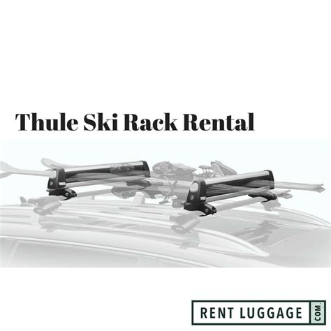 sale closeout thule flat top snowsport rack 92726