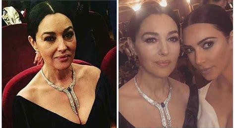 monica bellucci ingrassata monica bellucci prima e dopo il fotoritocco il selfie