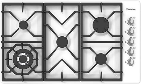 westinghouse 90cm gas cooktop westinghouse whg955wa 90cm gas cooktop up to 60