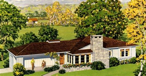 characteristics of a ranch style house quot ranch homes quot their history and distinguishing