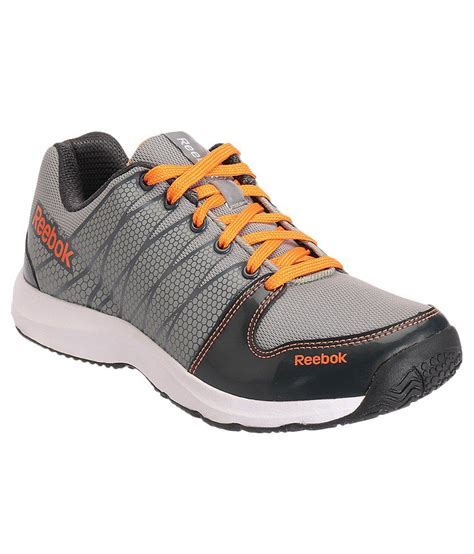 buy reebok cool traction grey sports shoes for