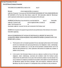 Guarantee Letter For Check Up 7 Company Guarantee Letter Company Letterhead