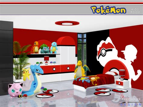 pokemon bedroom decorating ideas pokemon kids room by nynaevedesign at tsr 187 sims 4 updates