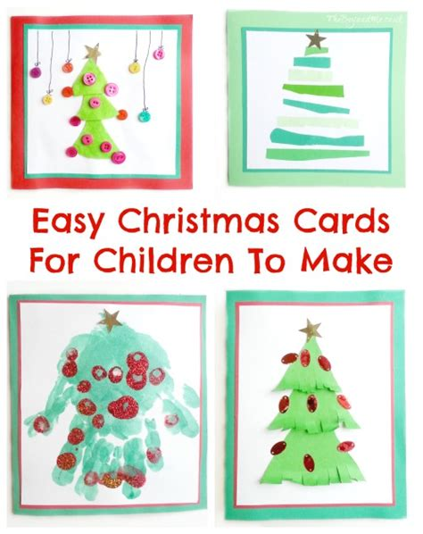 cards for preschoolers to make four easy cards for children to make theboyandme
