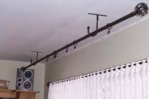 Hang Curtain Rods Without Drilling Holes Curtain Gallery » New Home Design