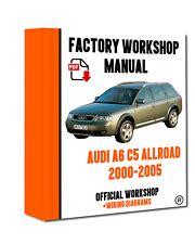 Audi A6 Workshop Manual Ebay