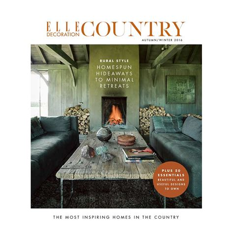 decoration articles elle decoration country volume 9 elle decoration uk