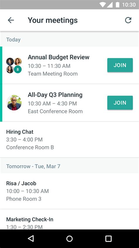 hangouts meet android apps on play