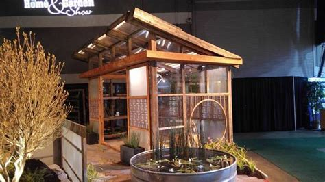 Asian Greenhouse in Madras   bamboo, home and garden