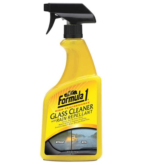 Formula 1 High Performance Bug formula 1 high performance glass cleaner with