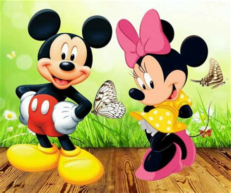 Celana Happy Lucky 30 gambar kartun mickey mouse dan minnie mouse exceed