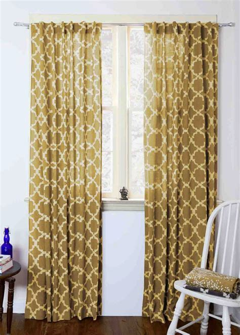 Block Print Curtains Moroccan Curtains Yellow Tiles Mustard Geometric Window Curtains Block Print Curtain Home Living