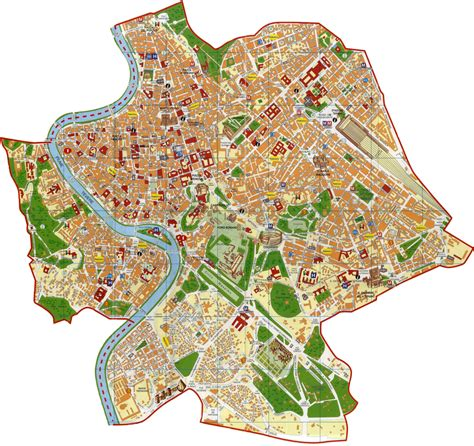 mappa di roma capitale