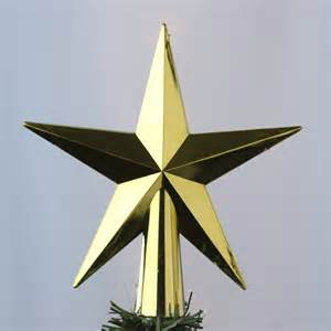 gold metallic star tree topper christmas trees and