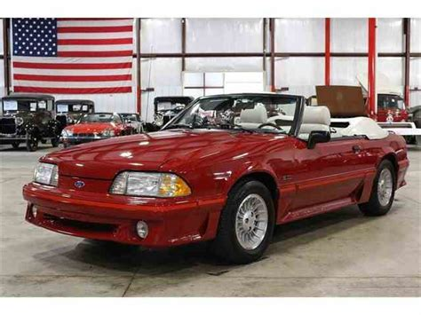 best car repair manuals 1988 ford mustang user handbook 1988 ford mustang for sale on classiccars com 13 available