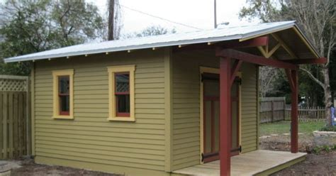 custom shed  complement  craftsman bungalow hometalk