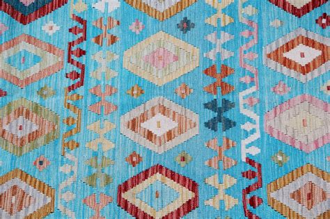Kilim Rug With Geometric Motifs At 1stdibs Rug Motifs