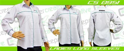 Baju F1 Petronas corporate shirt cs 0951 creeper design