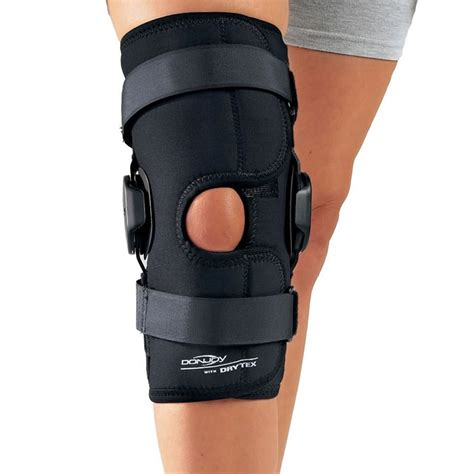 Knee Support Athlet Sport donjoy hinged knee wrap brace mcl lcl instability meniscus
