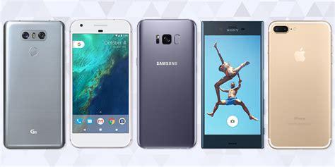 best phone 16 best smartphones in 2017 top mobile phones for ios