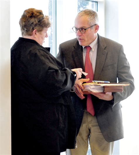Maine District Court Records Former Somerset Da Clerk Charged With Embezzling Meets With Judge Central Maine