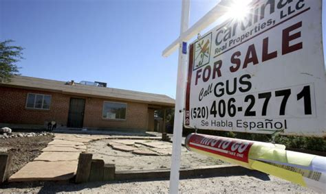 median tucson home prices highest since last summer