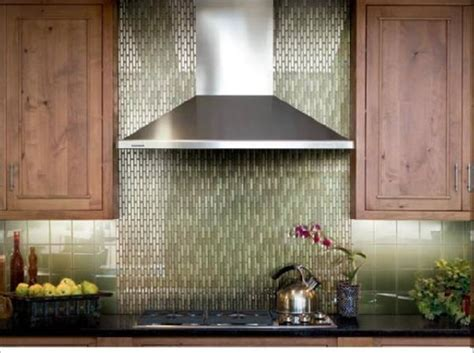 Green Kitchen Backsplash Tile Glass Backsplash Design Ideas