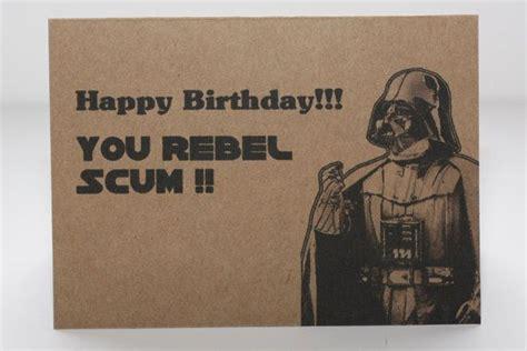 Geek Birthday Meme - darth vader birthday card and envelope star wars geek