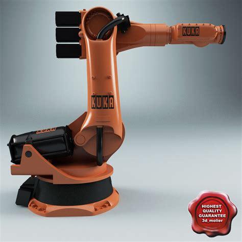 Sevenfriday P3 07 Kuka Iii 3d kuka robot kr 100 3 model