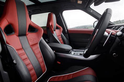 blue range rover interior 2015 land rover range rover sport svr interior 02 car