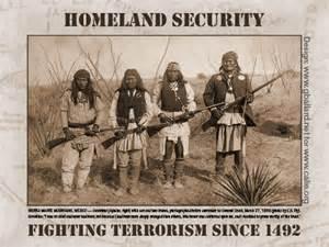 Sommige legendarische indianenleiders namen de wapens op tegen de