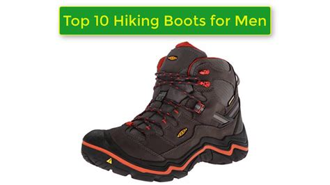 most comfortable hiking shoes for men top 10 most comfortable hiking boots for men 2017 youtube