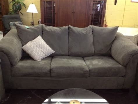 upholstery kissimmee fl large grey suede sofa diggerslist