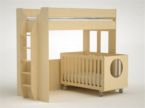 Bunk Bed Over Crib Convertible Lofts And Cribs Oh My Crib Bunk Bed