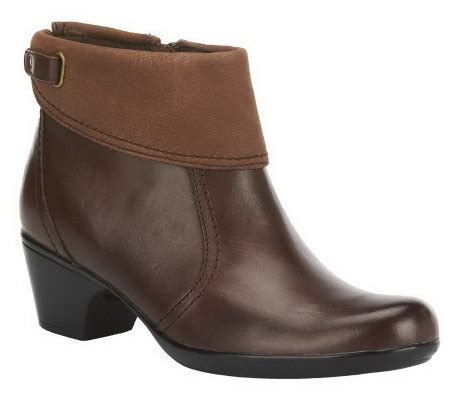 clarks bendables ingalls ohio leather side zip ankle boots