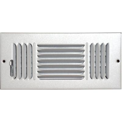 Ceiling Air Vents Home Depot speedi grille 4 in x 8 in ceiling sidewall vent register