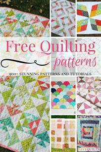 900 free quilting patterns favequilts