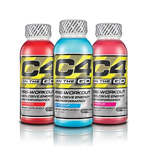 c4 energy drink cellucor c4 on the go pre workout energy drink supplements