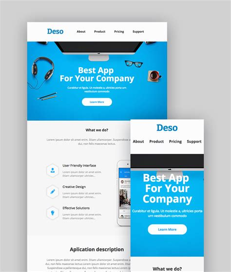 email advertisement template best mailchimp templates to level up your business email