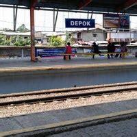 stasiun depok  train station