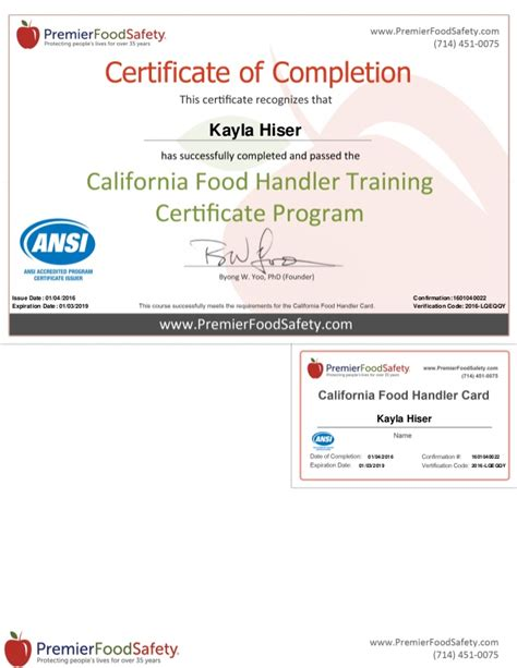 california food handler card test answers foodfash co