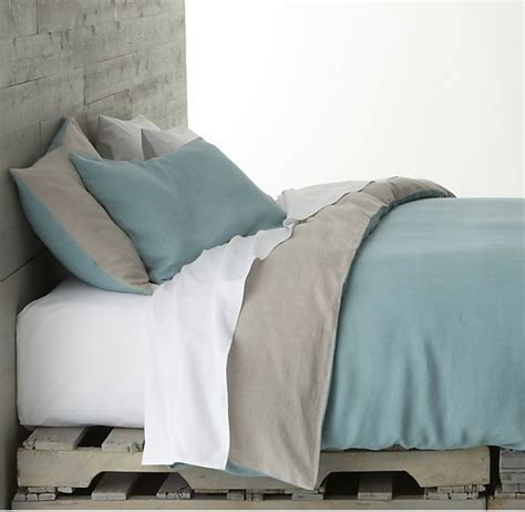 bedroom linens azure bed linens contemporary bedding by crate barrel