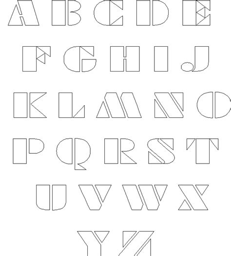 templates for letters of the alphabet block letter template new calendar template site