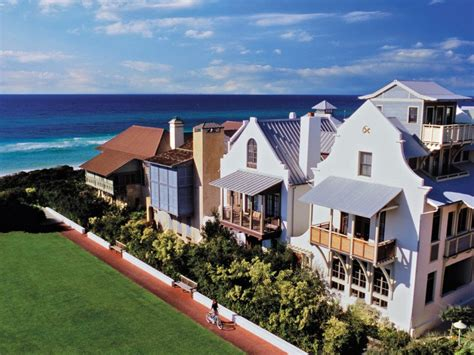 Beachfront House Plans Did Florida Steal Rosemary Beach From Alabama