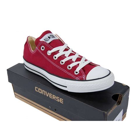 Sweater Converse Shoes Maroon converse chuck all ox maroon mens shoes from